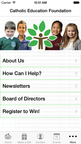 【免費教育App】Catholic Education Foundation-APP點子