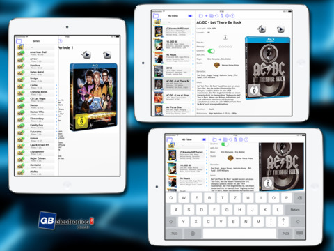 DVDdb iPad Screenshot 1