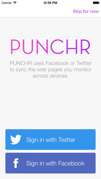 Punchr Page Monitor