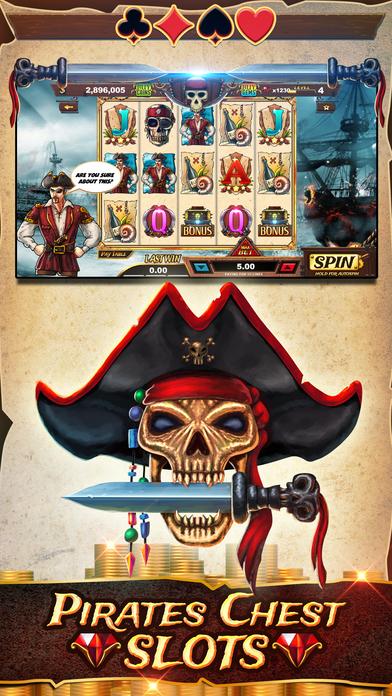 Screenshot 1 Пираты Грудь Слоты — Пират Бей Издание