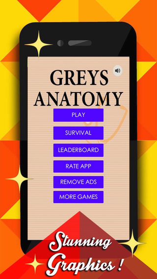 Quiz for Fans of Grey's Anatomy Edition - Trivia Question Game about TV Shows and Sitcoms