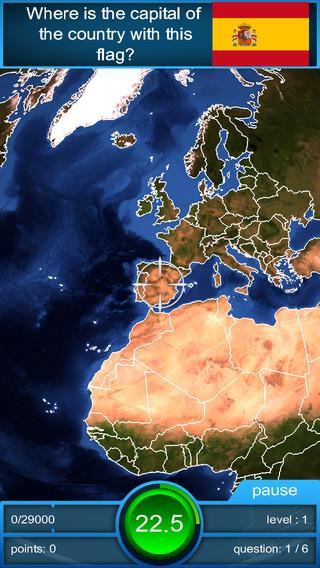 Worldquiz HD - the 3D geography quiz