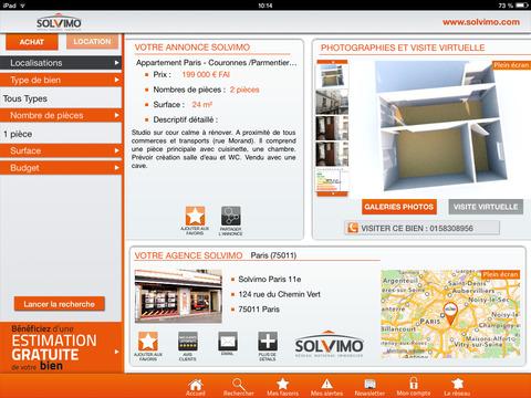 SOLVIMO iPad Screenshot 2