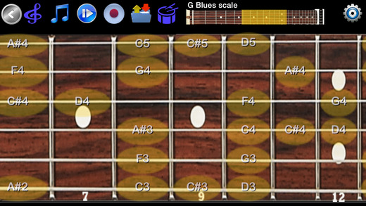 Guitar Scales Chords Free - Learn to Solo