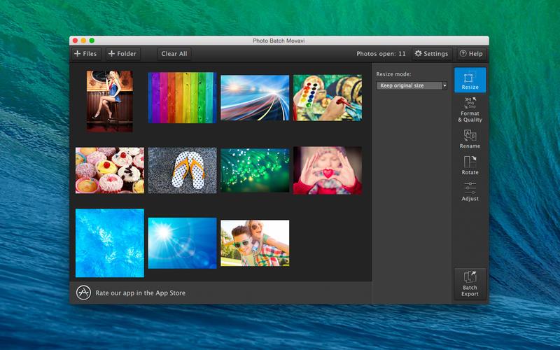 Photo Batch Movavi Screenshot - 2