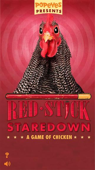 Popeyes Red Stick Staredown