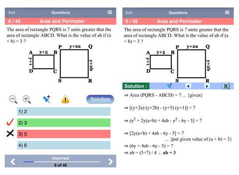 PRAXIS Math Aptitude iPad Screenshot 2