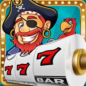 AA Aces Pirates Slots - The Treasure of the Sea Machine Gamble Game Free LOGO-APP點子