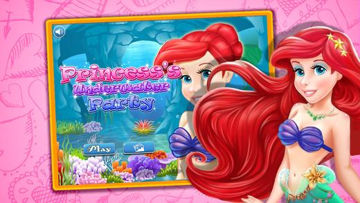 Princess's Underwater Party