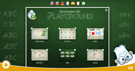 Preschoolers ABC Playground PRO - A Read and Write Learning App with Fun Animals for Kids