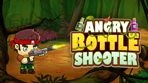 Angry Bottle Shooter Free