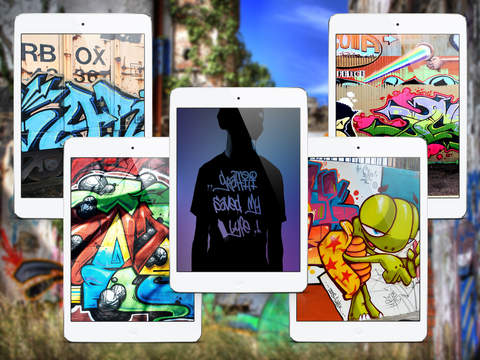 Wallpapers for Graffiti - iPad Version