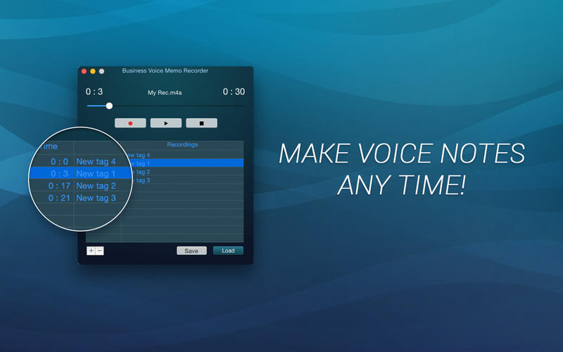 Business Voice Memo Recorder Screenshot - 1
