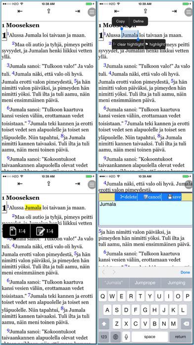 Pyha Raamattu(Finnish Bible) iPhone Screenshot 2
