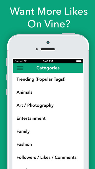Tags for Likes on Vine - How to Get More Tags for Likes and Followers for your Best Videos