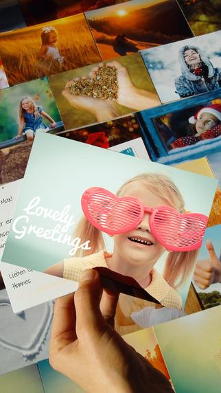PokaMax - Send your photos as real postcards - worldwide