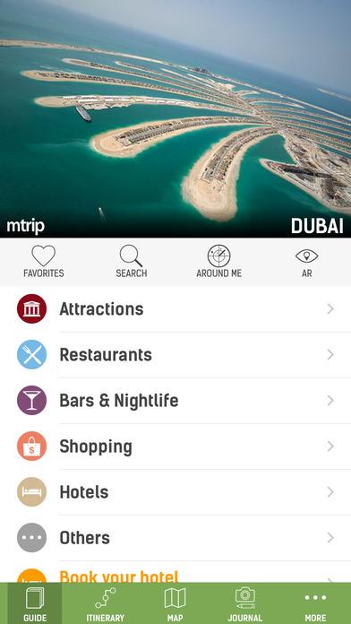Dubai Travel Guide - mTrip iPhone Screenshot 1