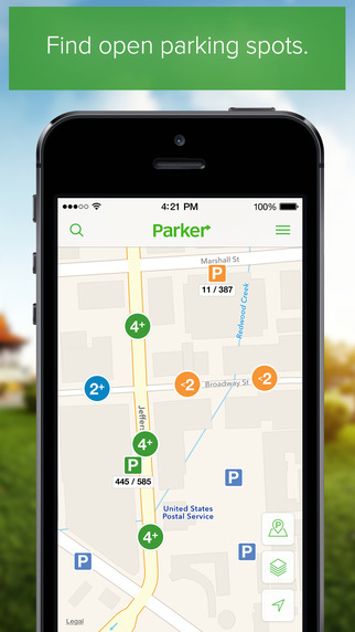 Parker – Find open available parking