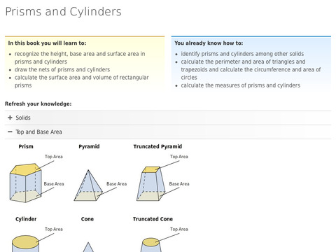 Solids 2: Prisms and Cylinders