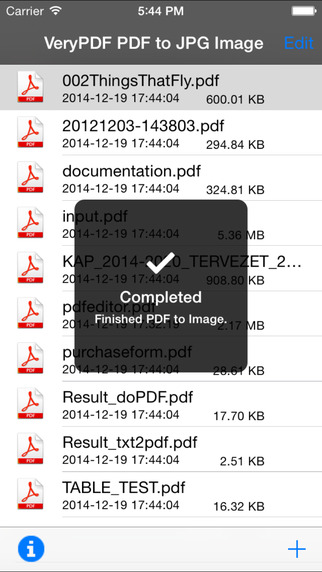 VeryPDF PDF to JPG Image Screenshots