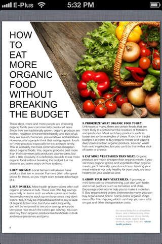 Organic Living Magazine screenshot 4