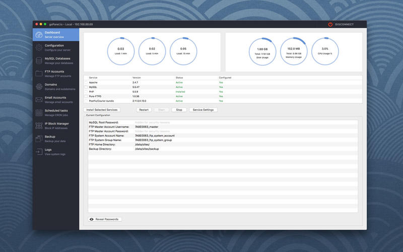 goPanel 1.0.3: A Reliable cPanel Alternative to Manage Linux Web Servers Image