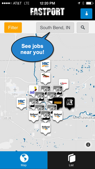 FASTPORT Trucking JobMaps