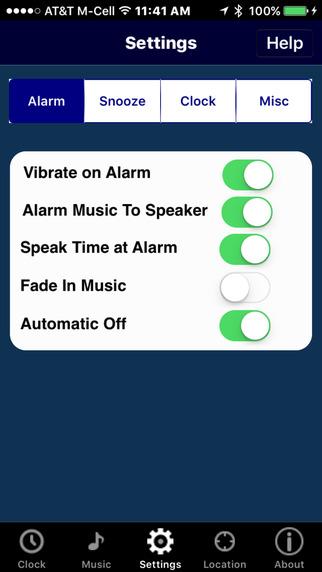 My Music Alarm Clock iPhone Screenshot 5
