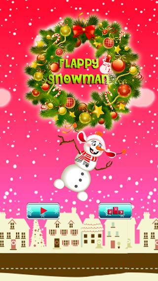 Xmas Flapp Snowman