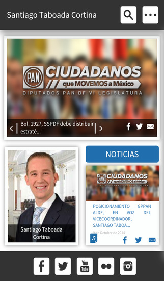 Dip. Santiago Taboada Cortina