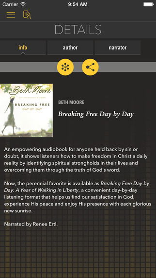 Breaking Free Day by Day by Beth Moore