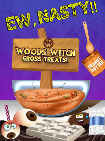 Woods Witch Gross Treats Maker - The Best Nasty Disgusting Sweet Sugar Candy Cooking Kids Games for