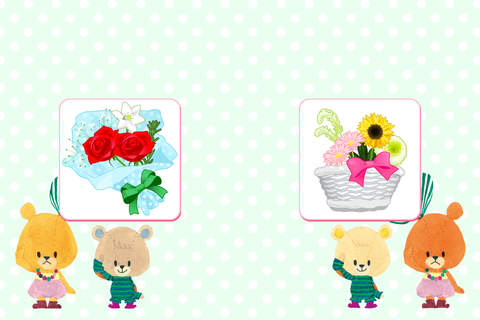 TINY TWIN BEARS' arrange Flowers screenshot 2