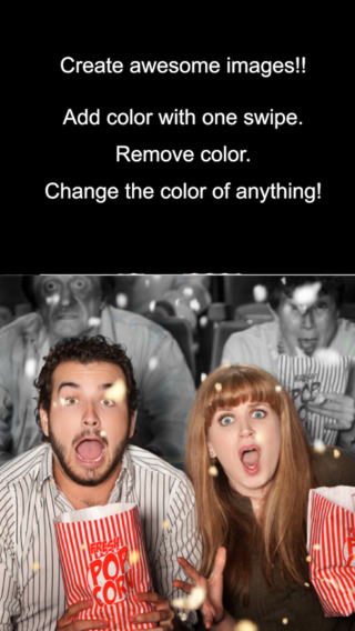 Color Effects - recolor/decolor/splash colors on images and Facebook photos iPhone Screenshot 4