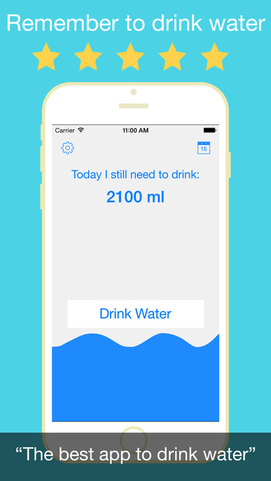 Drink Water Reminder PRO - Drinking water for healthy living Screenshots