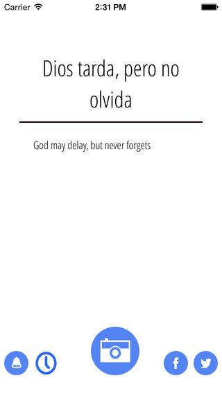 Spanish Proverbio