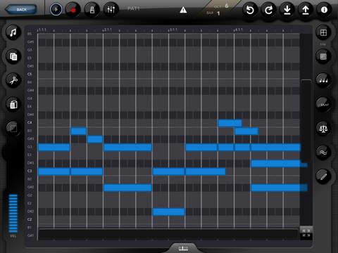 Genome MIDI Sequencer Screenshots