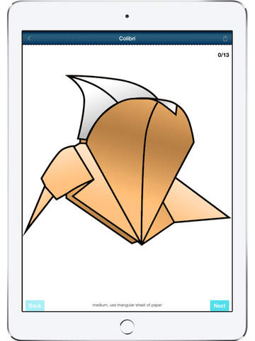 Origami Paper Art - Step by step screenshot