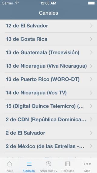 Televisión de El Salvador Guía