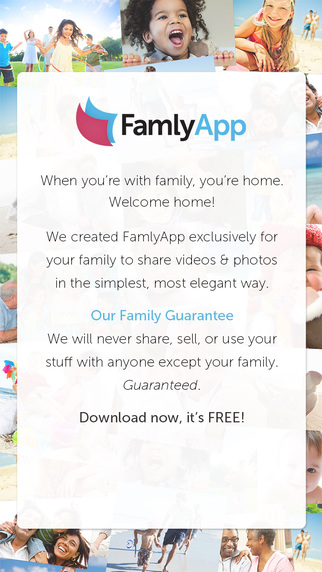 FamlyApp - Private Family Video and Photo Sharing