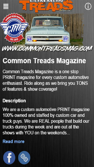 Common Treads Magazine