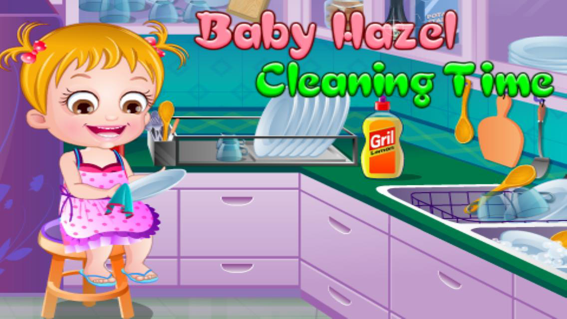 Baby Hazel Room Cleaning Games