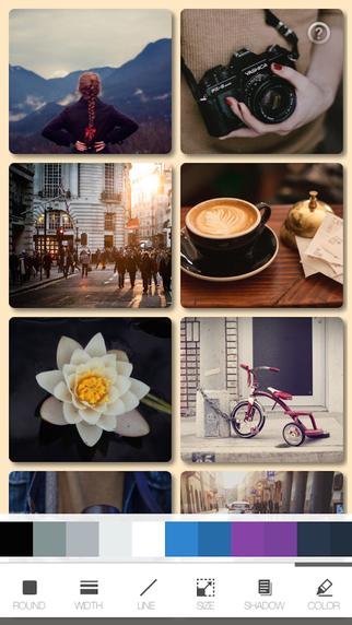 withFrame – 图片拼图应用[iPhone]丨反斗限免