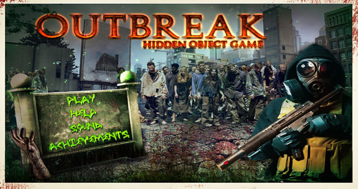 Outbreak - Free Search find concealed and hidden objects to find the cure that will save the world