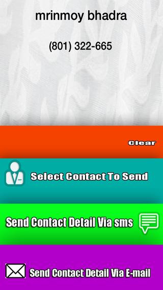 Contact Buddy
