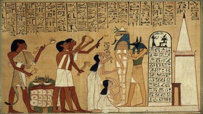 Egyptian Senet. Скрин 2