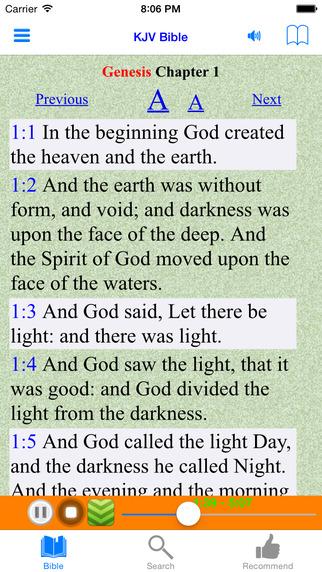 King James Version - KJV - Holy Bible Audio Book