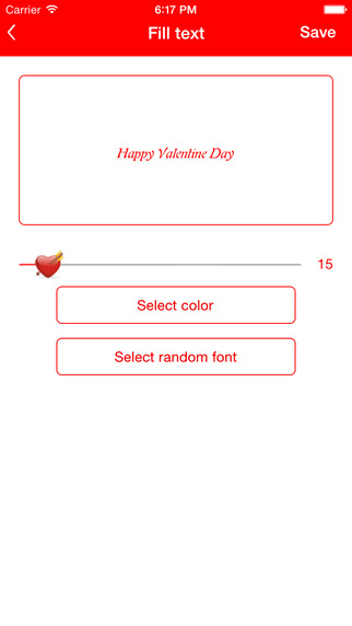 Valentine Special Card creator Contdown Quotes