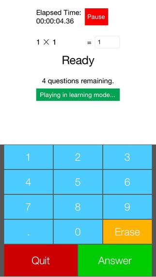 Flashcards for Basic Math