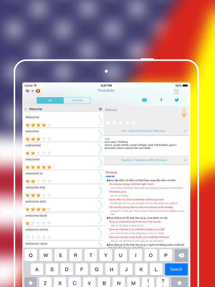 Offline English to Vietnam Language Translator / Dictionary ...